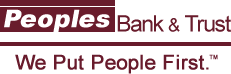Peoples Bank & Trust Logo