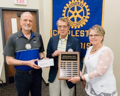 Peoples Bank & Trust - Charleston Volunteer Charleston Rotary Club