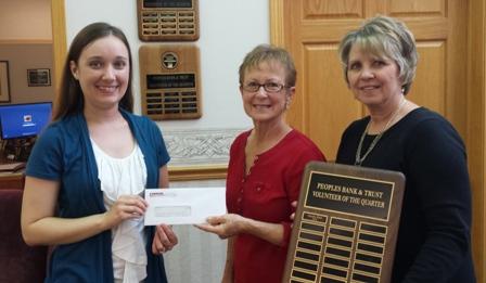 Peoples Bank & Trust - Charleston Volunteer Marsha Blair