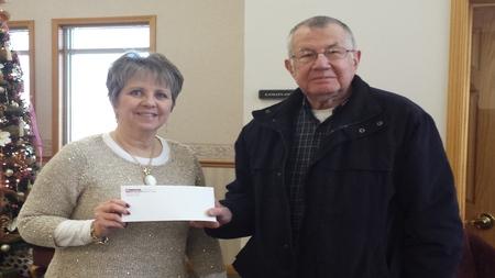 Peoples Bank & Trust Charleston Volunteer Norman Kitley