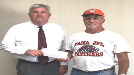 Peoples Bank & Trust - Pana Volunteer Ron Sims