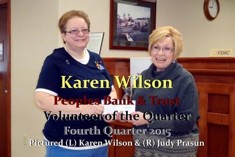 Peoples Bank & Trust - Karen Wilson