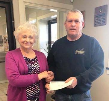 Peoples Bank & Trust - Waverly Volunteer Mike Cole