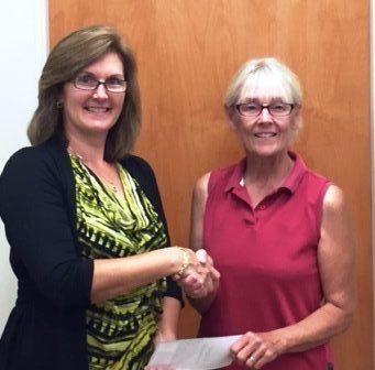 Peoples Bank & Trust - White Hall Volunteer Cathy Williams