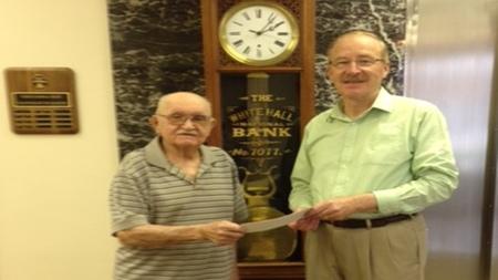 Peoples Bank & Trust - White Hall Volunteer Earl McEvers