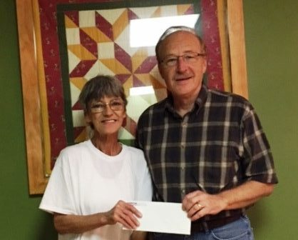 Peoples Bank & Trust - White Hall Volunteer Mary Ann Farris