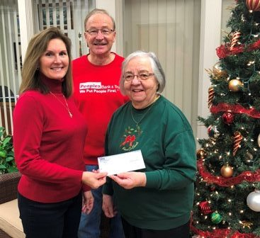 Peoples Bank & Trust - White Hall Volunteer Mary Frances Tunison