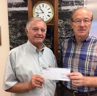 Peoples Bank & Trust - White Hall Volunteer Paul Fansler